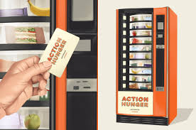 First Vending Machine Dispensed Fascinating First Vending Machine For The Homeless Will Dispense Free Food