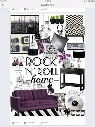Rock N Roll Home Decor for Stafford's room