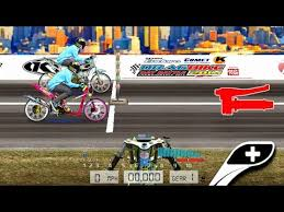 drag bike 201m racing mod indonesia