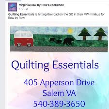 Quilting Essentials - Home | Facebook & Image may contain: text Adamdwight.com