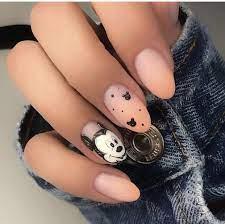 Nail_Design #Nail_Styles #Mickey_Mouse_Nails | Mickey nails, Stylish nails  art, Disneyland nails
