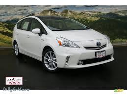 2012 Toyota Prius v Five Hybrid in Blizzard White Pearl - 020475 ...