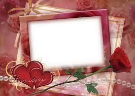 8 love frames for photo psd images