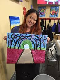 photo of painting with a twist staten island ny united states happy