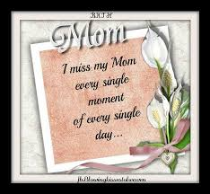 I Miss My Mother In Heaven