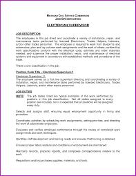 Electrician Job Description For Resume Electrician Job Description For Resume Best Apprentice Electrician 22