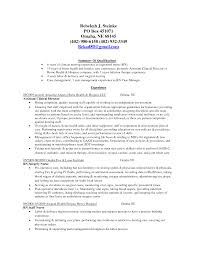 resume personal summary cipanewsletter cna cover letter sample experience cna resume skills and cna