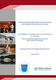 PDF) BUILDING COLLABORATION BETWEEN THE ARTS & CULTURE AND TOURISM SECTORS  IN THE WEST OF IRELAND