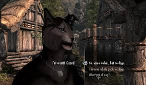 Skyrim Guard Quotes Enchanting Skyrim A Game Of Dragons