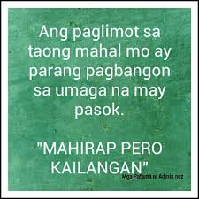 sad quotes about love tumblr tagalog | jengofunworld.com via Relatably.com