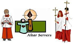 Image result for images of a catholic altar servers
