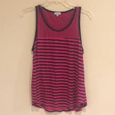 Splendid Tank Pink And Blue Stripe Monterosso S