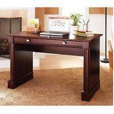office desk wood. Writing Computer Desk Cherry Finish Office Home Workstation Pc Laptop Wood Table