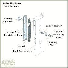 andersen patio door locksets patio door parts sliding patio door lock parts andersen sliding glass door lock parts