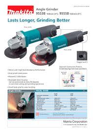 makita power tools catalog. angle grinder - 1 / pages makita power tools catalog