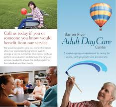 barren river adult daycare brochure warp design barren river adult daycare brochure