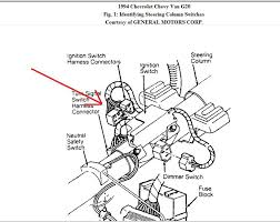 chevy wiring diagram of the ignition circuit ton van graphic