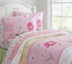 pink quilt bedding. Beautiful Pink Daisy Garden Quilt Throughout Pink Bedding N