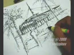 architectural buildings sketches. Speed Sketching In 15 Minutes Using Pen \u0026 Ink (An Architectural Perspective) - YouTube Buildings Sketches P