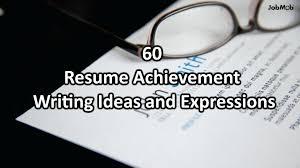 Achievements On Resume Examples Key Achievements Cv Examples