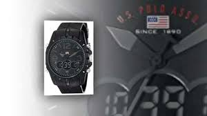 u s polo assn sport men s us9058 black analog digital watch u s polo assn sport men s us9058 black analog digital watch watches for men
