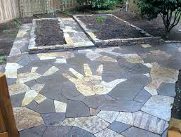 awesome how to lay flagstone patio for how to lay flagstone how to lay flagstone patio