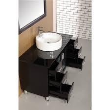 modern single sink bathroom vanities. Charming Decoration Modern Single Bathroom Vanities Design Element DEC066C E Malibu 48 Inch Sink :