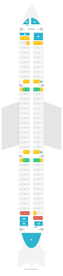 321 Seating Chart Seat Map Airbus A321 200 321 Iberia Find The Best Seats