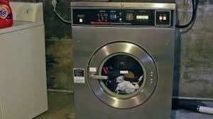 How Big Is A Washing Machine Speed Queen Sc27 Front Load Industrial Washer Extractor Youtube