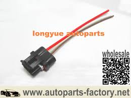 longyue 20sets universal pico wiring harness pigtail alternator 3 pin replaces 12101895 ea 15cm wire