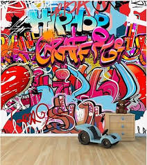 graffiti wall wallpaper mural style 1 childrens bedroom feature wall wm344 on graffiti wall art bedroom with graffiti wall wallpaper mural style 1 childrens bedroom feature wall