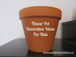 Pot Decoration Designs Decorating Flower Pots with Kids Moms Munchkins 75