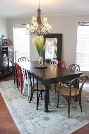 bentwood chairs in our dining room with red white black and natural bentwood chairspaint ideasdining tabledining