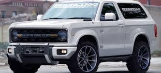 2017/2020 Ford Bronco Price, Release Date, Design  C
