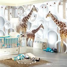 giraffe nursery wall art fancy design ideas nursery wall paper elegant unique view giraffe photo wallpaper