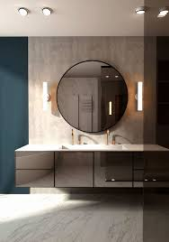 Kleine Badezimmer Grau
