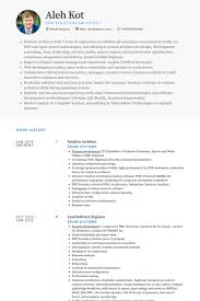 Solution Architect Resume samples