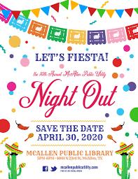 Graphic Design Mcallen Tx Annual Night Out Mcallen Public Utility
