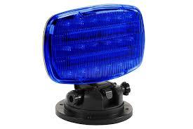 Light Blue B Flashing Led Strobe Light With Adjustable Locking Magnetic