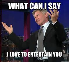 Modest Harrison Ford memes | quickmeme via Relatably.com