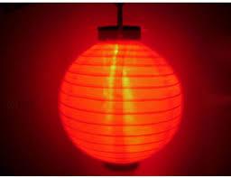Smart Solar 20Light LED MultiColor Chinese Lantern String Light Chinese Lantern Solar Lights