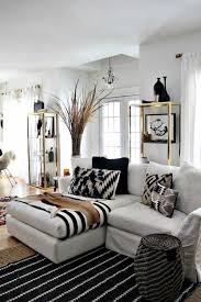 Living Room Monochromatic Living Rooms With White Modern Chaise