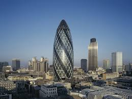 One of London's most iconic buildings, The Gherkin, in the heart of the  city's financial district has been put up for sale.