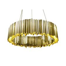 Luxury Pendant Lighting Uk Facet 100cm Diameter Luxury Ceiling Pendant Polished Brass