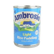 Amazon Com Ambrosia Light Rice Pudding 400g Case Of