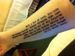 nolite te bastardes carborundorum tattoo. fear and loathing in las vegas. \u201c nolite te bastardes carborundorum tattoo