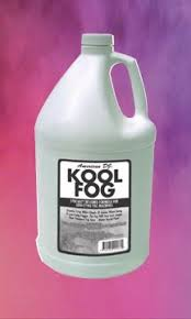 adj kool fog fluids fog haze bubble snow machines lighting