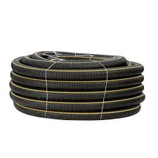 6 x 100 corrugated solid drain pipe