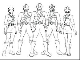Coloring Pages Mighty Morphin Power Rangers Coloring Pages Color