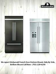 kitchenaid side by side refrigerator ice maker not working refrigerator side by side refrigerator repair refrigerator